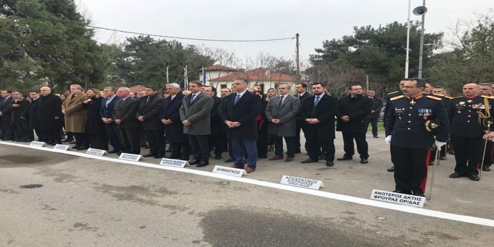 Ορεστιάδα: Κατέθεσε στεφάνι και παρακολούθησε την παρέλαση ο Κυροάκος Μητσοτάκης
