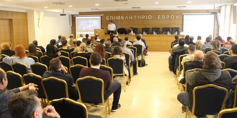 Πετυχημένη η διάλεξη με θέμα «ασφαλής πλοήγηση στο διαδίκτυο» στην Αλεξανδρούπολη