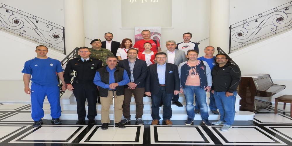 """Πέτροβιτς: «Όλα είναι έτοιμα για την υποδοχή των 1000 δρομέων στο VIA EGNATIA RUN"""""""