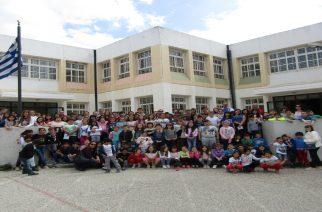 """Ο """"Παγκόσμιος"""" Κώστας Γκατσιούδης επισκέφθηκε σχολεία της περιοχής"""