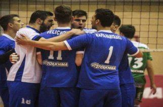 Ο Εθνικός Αλεξανδρούπολης παρέμεινε στη Volleyleague κερδίζοντας 3-0 τη Νίκη Αιγινίου