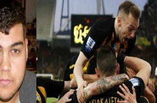 Αφιέρωσαν τη νίκη-τίτλο στον Δημήτρη Κούκλατζη οι παίκτες της ΑΕΚ