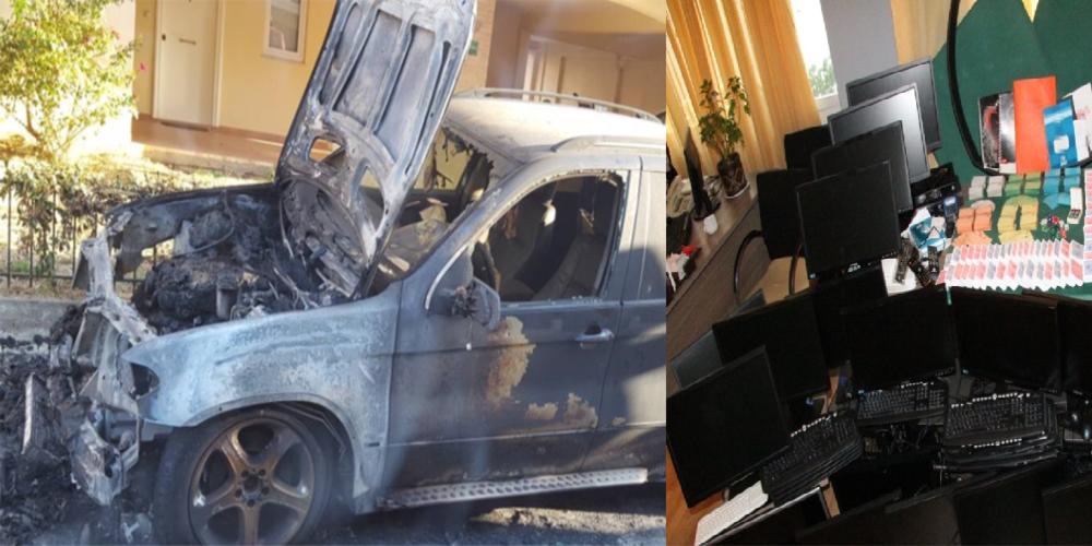 """Αλεξανδρούπολη: ΟΛΟΙ… μέσα-Οι Εκβιαστές-εμπρηστές αυτοκινήτων επιχειρηματία, αλλά και ο ίδιος για φρουτάκια, """"ξέπλυμα"""""""