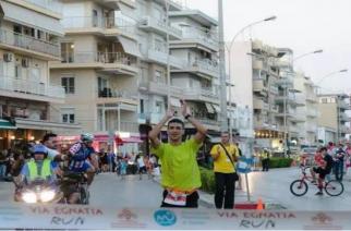 Βούλκος και Θεοδωράκη νικητές στον ημιμαραθώνιο του απόλυτα πετυχημένου Via Egnatia Run