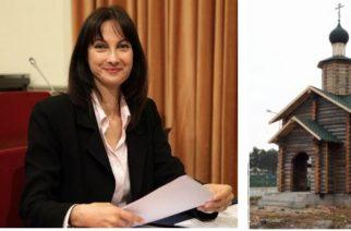 Η υπουργός Τουρισμού Έλενα Κουντουρά στην Αλεξανδρούπολη για τα θυρανοίξια του ρώσικου παρεκκλησίου