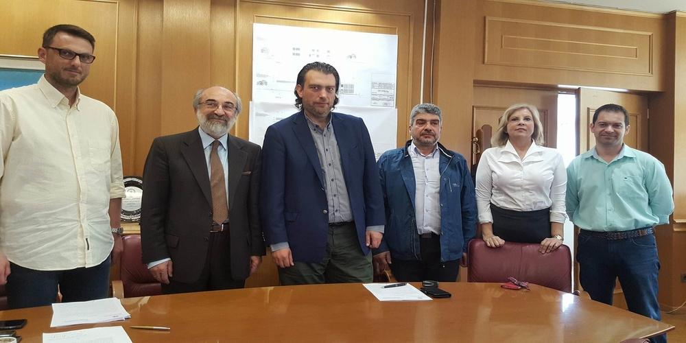 Υπογράφτηκε η σύμβαση έργου: «Κατασκευή κτιρίων Γυμνασίου και Λυκείου στην περιοχή ΚΕΓΕ του Δήμου Αλεξανδρούπολης»