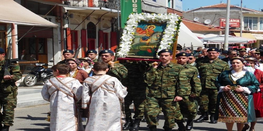 Το Σουφλί γιόρτασε τον πολιούχο του Άγιο Γεώργιο (φωτορεπορτάζ)