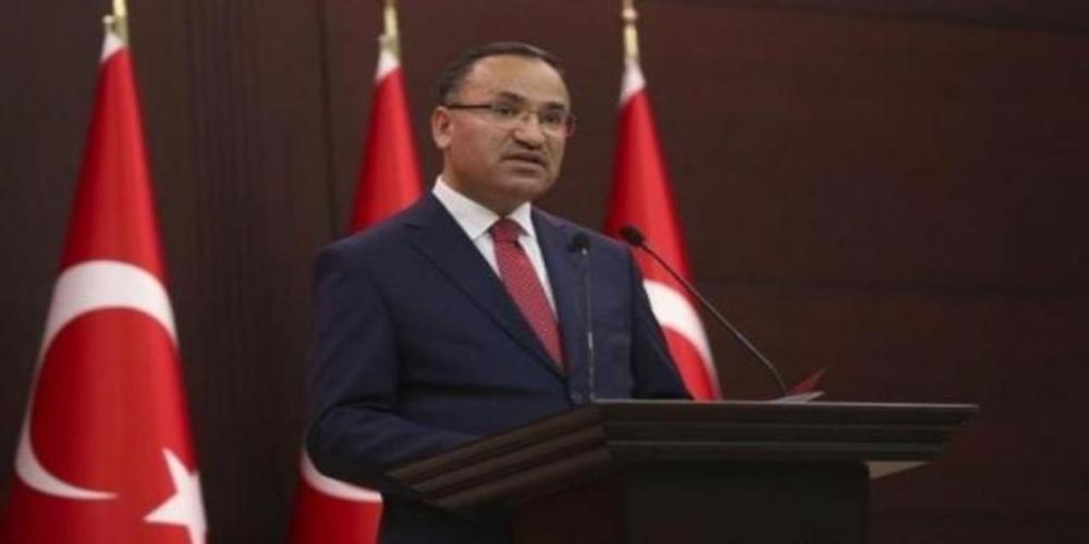 Τούρκος Αντιπρόεδρος Μποζντάγ: Δεν είναι αντικείμενο ανταλλαγής οι Έλληνες στρατιωτικοί