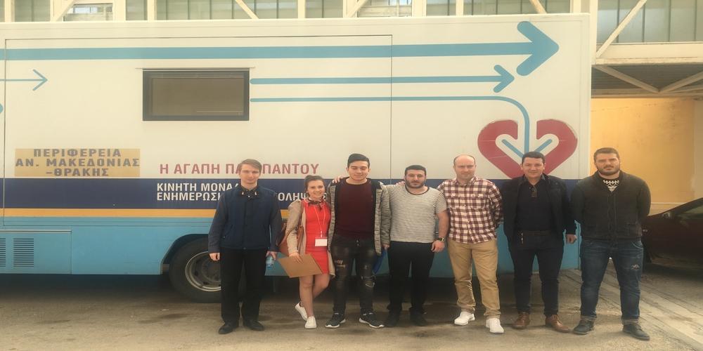 Πετυχημένη η τριήμερη εθελοντική αιμοδοσία της ΟΝΝΕΔ στον Έβρο