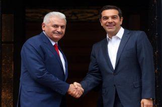 Το θέμα των δύο στρατιωτικών έθεσε ο Τσίπρας στον Γιλντιρίμ. Τί απάντησε ο Τούρκος Πρωθυπουργός