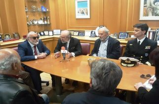Συνάντηση Λαμπάκη με Κουρουμπλή: Η Λιμενικη Ακαδημία θα ιδρυθεί στην Αλεξανδρούπολη