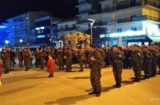 Ορεστιάδα: Περιφορά του Επιταφίου με τη σκέψη στους δυο φυλακισμένους στρατιωτικούς μας (ΒΙΝΤΕΟ+φωτό)