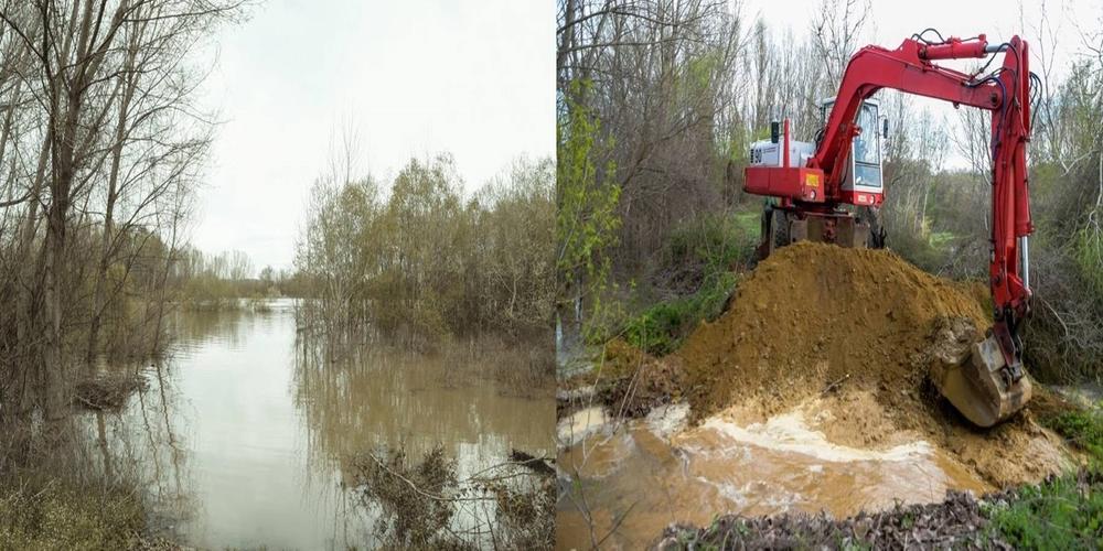 Έκαναν τεχνητή εκτόνωση στον κάμπο Σουφλίου, για ν' αποφευχθιύν ανεξέλεγκτες πλημμύρες (ΒΙΝΤΕΟ)