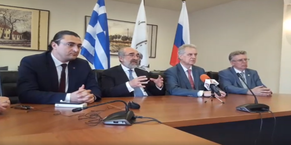 Λαμπάκης: Ιστορία, ομοδοξία, αδελφοποιήσεις, θα μας συνδέουν για πάντα με την Αγία Πετρούπολη