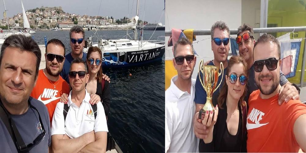 Τρίτη θέση για το σκάφος ΑNDROMEDA-VARTAN του Ν.Ο.Αλεξανδρούπολης στον αγώνα Ελληνικής Ναυτοσύνης στην Καβάλα