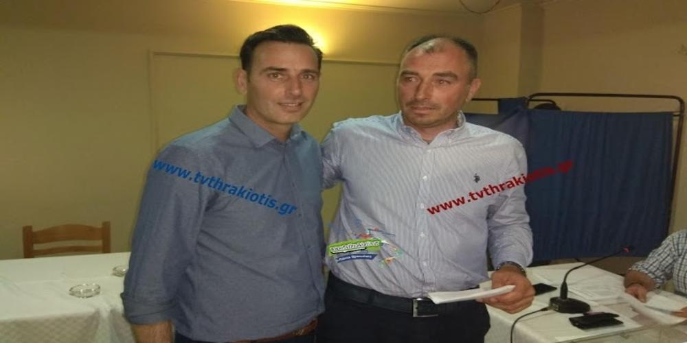 Ο Παντελής Χατζημαρινάκης και τυπικά νέος Πρόεδρος της ΕΠΣ Έβρου. Οι χθεσινοβραδινές εκλογές