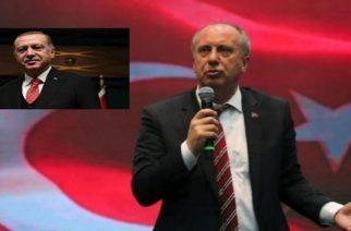 Σε λίγο στην Κομοτηνή ο κεμαλιστής, ανθέλληνας Μουχαρέμ Ιντζέ, αντίπαλος του Ερντογάν