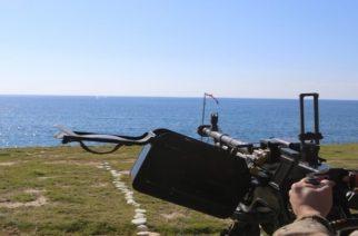 """Στρατιωτική άσκηση με βολές στην παραλία """"Πετρωτών"""" Μάκρης Αλεξανδρούπολης"""