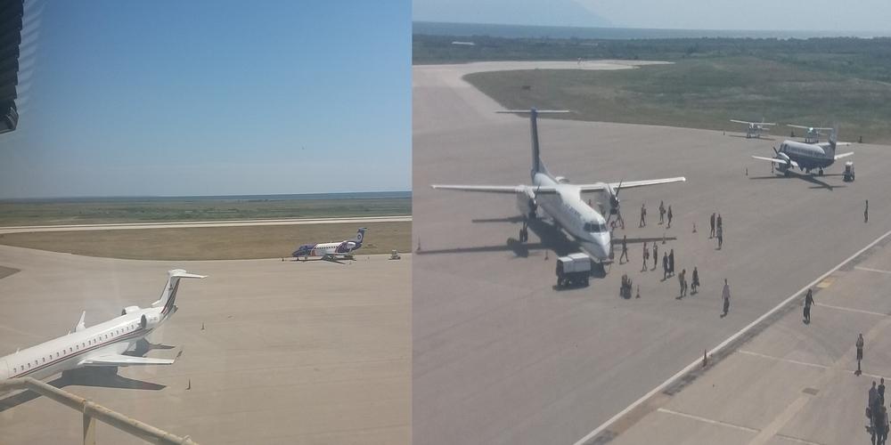 """Γέμισε αεροπλάνα το αεροδρόμιο """"Δημόκριτος"""" της Αλεξανδρούπολης την Κυριακή"""
