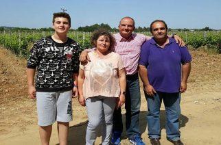 Ο Κώστας Καραμανλής επισκέφθηκε την Οινοποιεία Μπέλλα στο Σουφλί