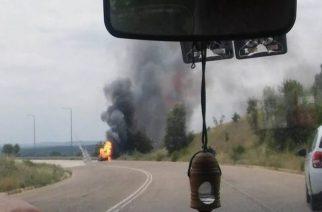 Από διαρροή υγραερίου η έκρηξη στο αυτοκίνητο που το κατέστρεψε ολοσχερώς στον Κριό Ορεστιάδας (φωτό)