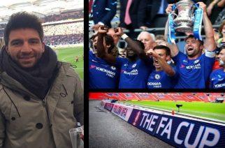 Ο Εβρίτης ποδοσφαιριστής που έζησε στο Γουέμπλεϊ την κατάκτηση του Κυπέλλου Αγγλίας απ' την Τσέλσι