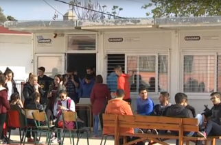 Άλλα 3 χρόνια τουλάχιστον μαθήματα σε προκάτ αίθουσες, οι μαθητές του Λυκείου Φερών
