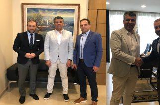 Την θεσμική συνεργασία Περιφερειακού Επιμελητηρίου ΑΜΘ-Ομοσπονδίας Εμπορίου και Επιχειρηματικότητας Θράκης συζήτησαν Χατζημιχαήλ, Τοψίδης