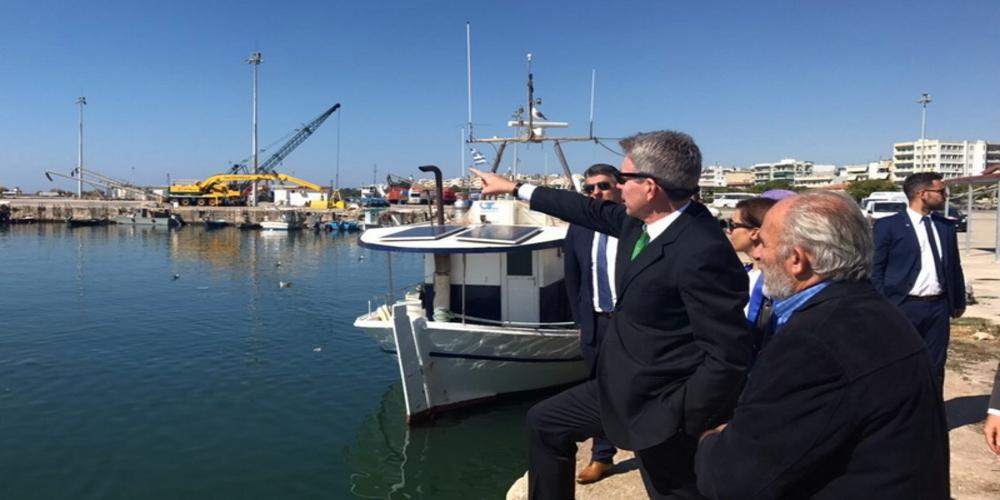 Αλεξανδρούπολη: Έρχεται ο Αμερικανός πρέσβης Τζέφρυ Πάιατ. Στον δήμαρχο τώρα στελέχη της πρεσβείας των ΗΠΑ