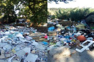 Ένας απέραντος σκουπιδότοπος περιοχές του Μαίστρου (φωτορεπορτάζ)