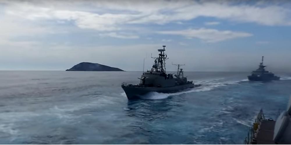 Η Πυραυλάκατος «ΞΕΝΟΣ» στην Αλεξανδρούπολη και το πολεμικό πλοίο ΤΠΚ ΡΟΥΣΣΕΝ στη Σαμοθράκη