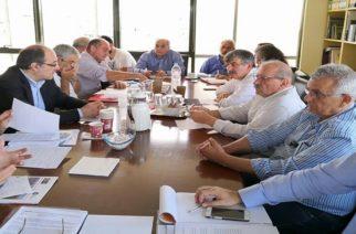 Σύσκεψη στο Yπουργείο Περιβάλλοντος για την ολοκληρωμένη διαχείριση των  υδάτων στον νομό Εβρου