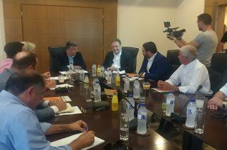 Αλεξανδρούπολη: Συνάντηση Πιτσιόρλα με Προέδρους Επιμελητηρίων και εκπροσώπους φορέων Περιφέρειας ΑΜ-Θ