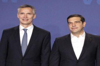 Τσίπρας σε Στόλτενμπεργκ: Το ΝΑΤΟ πρέπει να κάνει περισσότερα για τους Έλληνες στρατιωτικούς