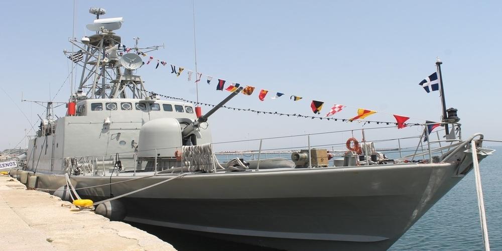 """Πολεμικό πλοίο, η πυραυλάκατος """"ΞΕΝΟΣ"""" βρέθηκε στο λιμάνι της Αλεξανδρούπολης"""