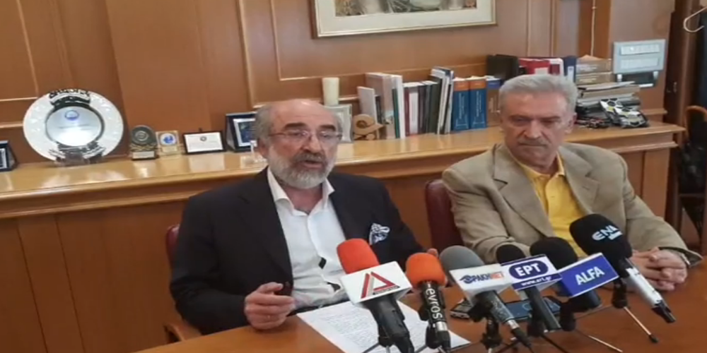 """ΒΙΝΤΕΟ: Νέα """"επίθεση"""" Λαμπάκη, Αρβανιτίδη στην ΕΠΟΦΕ αντί συνεννόησης για τη Γιορτή Κρασιού"""