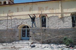 Αλλάζει εξωτερική όψη και ομορφαίνει η εκκλησία της ακριτικής Μηλιάς στα ελληνοβουλγαρικά σύνορα (φωτορεπορτάζ)