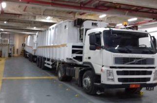 Η SAOS Ferries τήρησε την υπόσχεση για τα σκουπίδια. Έλεγχος από συνεργεία Περιφέρειας, Λιμεναρχείου