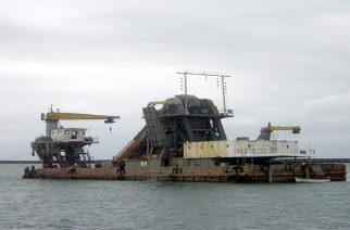 """Οι  Αμερικανοί θα βοηθήσουν και στην ανέλκυση του ναυαγίου βυθοκόρου """"Όλγα"""" απ' το λιμάνι Αλεξανδρούπολης"""