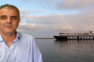 SAOS Ferries σε Θ.Βίτσα. Θα μεταφέρουμε τα σκουπίδια κάθε βδομάδα με ειδικό δρομολόγιο χωρίς επιβάτες. Εσείς θα κάνετε κάτι;