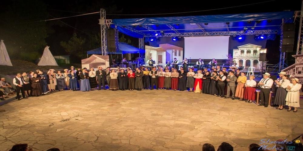 """Ξεκίνησαν τα ΟΡΕΣΤΕΙΑ 2018 με την παράσταση: """"Καραγάτς-Νέα Ορεστιάδα: Από τη Θυσία στη Γένεση""""(ΒΙΝΤΕΟ+φωτό)"""