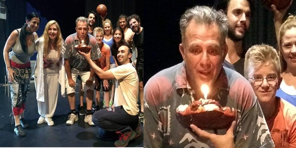 Η έκπληξη των φίλων του στα γενέθλια του Σουφλιώτη κορυφαίου ηθοποιού Πασχάλη Τσαρούχα