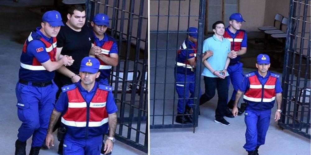 «Υποψία εγκλήματος» βλέπουν τώρα οι Τούρκοι για τους δυο Έλληνες στρατιωτικούς (ΒΙΝΤΕΟ+νέες φωτό)