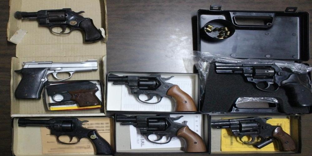 Συνελήφθησαν 7 Έλληνες για κατοχή όπλων σε Έβρο, Κομοτηνή, Ξάνθη
