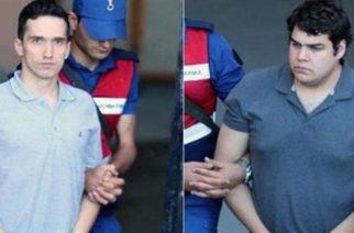 ΣΥΜΒΑΙΝΕΙ ΤΩΡΑ: Στο δικαστήριο της Αδριανούπολης οι 2 Ελληνες στρατιωτικοί. Νέο αίτημα αποφυλάκισης