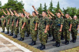 Η δεύτερη ορκομωσία νεοσυλλέκτων οπλιτών στα στρατόπεδα Αλεξανδρούπολης, Καβησού, Προβατώνα