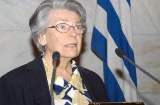 """""""Έφυγε"""" η Βιργινία Τσουδερού, μια κορυφαία ελληνίδα με σημαντική προσφορά στην Θράκη"""
