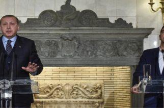 """Καμιά απάντηση Ερντογάν σε Τσίπρα για τους δυο στρατιωτικούς. """"Θα δούμε στο μέλλον"""""""