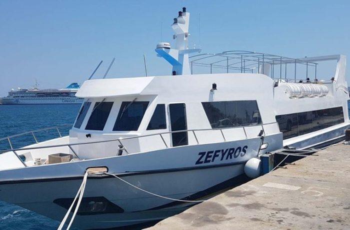 Η γραφειοκρατία καθυστερεί την θαλάσσια περιήγηση και ξενάγηση της Σαμοθράκης με το ΖΕΦΥΡΟΣ