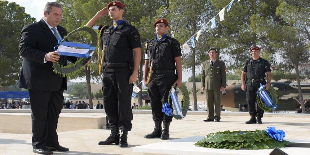 Συλλήψεις 12 ατόμων στην Κύπρο γιατί γιούχαραν τον Καμμένο!!!